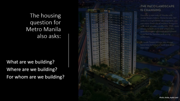 the housing question also asks