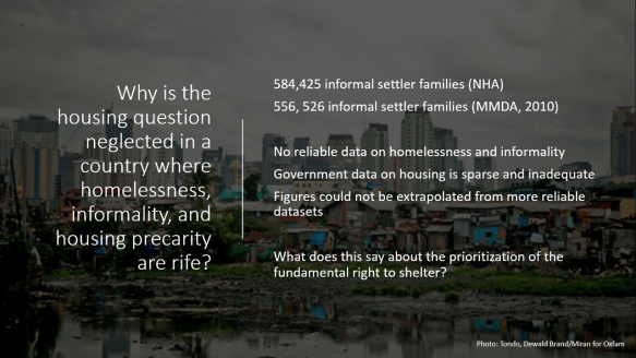 why is the housing question neglected.gif